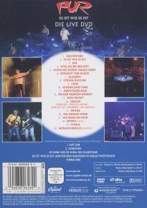 Es Ist Wie Es Ist/Die Live-DVD