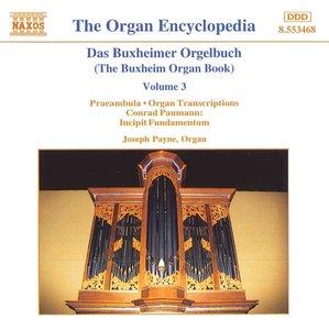 Buxheimer Orgelbuch Vol.3/+