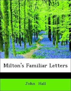 Milton's Familiar Letters