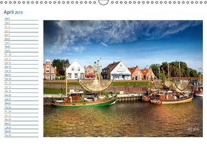 East Friesland - the old harbours / UK-Version / birthday calend