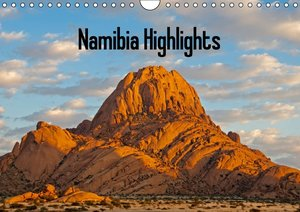 Namibia Highlights / UK-Version (Wall Calendar 2015 DIN A4 Lands