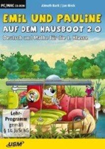 Emil und Pauline auf dem Hausboot 2.0. Deutsch und Mathe für die