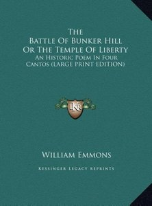 The Battle Of Bunker Hill Or The Temple Of Liberty