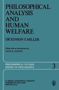 Philosophical Analysis and Human Welfare