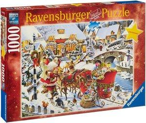 Ravensburger 193370 - Unterwegs zur Bescherung, Weihnachten, 100