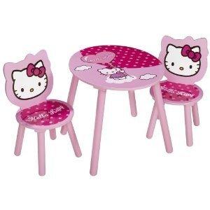 Eichhorn 100003133 - Hello Kitty: Tisch und Stühle