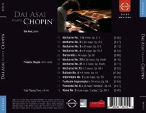 Dai Asai plays Chopin