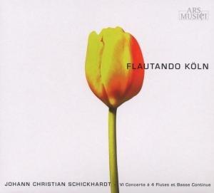 VI Concerts A 4 Flutes Et B.C.