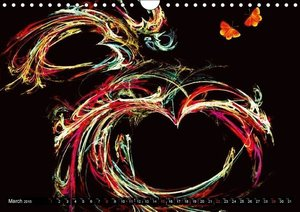 Heart to Heart / UK-Version (Wall Calendar 2015 DIN A4 Landscap