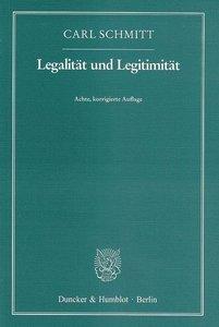 Legalität und Legitimität
