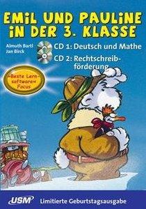Emil und Pauline in der 3. Klasse. 2 CD-ROMs für Windows95/98/ME
