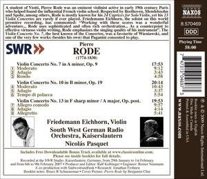 Violinkonzerte 7,10+13