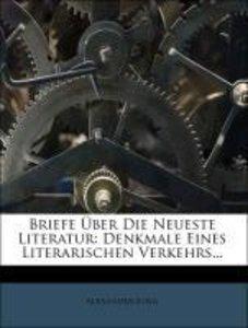 Briefe über die neueste Literatur.