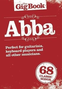 Gigbook ABBA Guitar Book