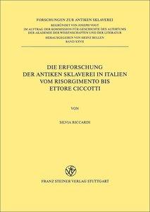 Die Erforschung der antiken Sklaverei in Italien