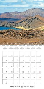Volcanoes and geysers - Hot breath of the earth (Wall Calendar 2