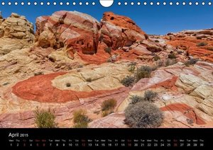 USA Nature Deluxe (Wall Calendar 2015 DIN A4 Landscape)