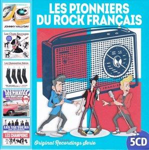 Les Pionniers Du Rock Fran+aise (5 CD)