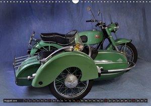 Deutsche Motorrad Oldtimer (Wandkalender 2016 DIN A3 quer)