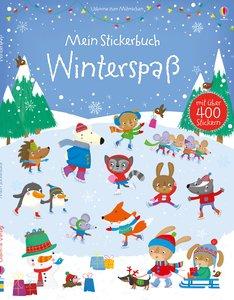 Mein Stickerbuch: Winterspaß
