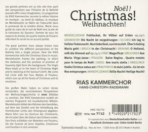 RIAS Kammerchor - Weihnachten!
