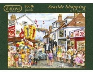 Jumbo Spiele 11005 - Seaside Shopping, 500 Teile Puzzle