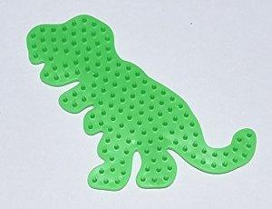 Hama 322-42 - MIDI Bügelperlen Stiftplatte Dinosaurier grün