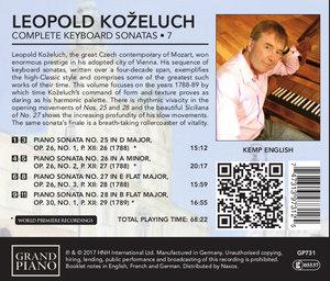 Sämtliche Klaviersonaten Vol.7