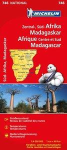 Zentral-, Südafrika, Madagaskar 1 : 4 000 000