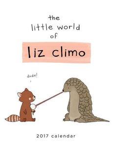 The Little World of Liz Climo 2017 Wall Calendar
