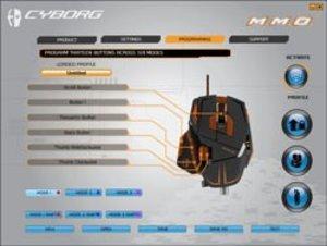 M.M.O. 7 Gaming Mouse für PC und Mac - matt-schwarz