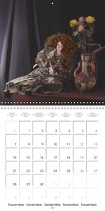 LOVE AND HOPES OF OLD DOLLS (Wall Calendar 2016 300 × 300 mm Squ