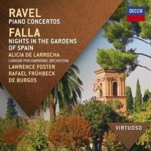 Ravel: Klavierkonzerte,Falla: Nächte In Spanische