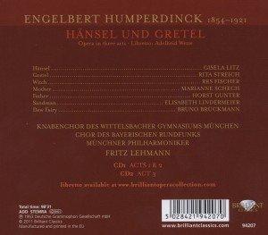Humperdinck:Hänsel und Gretel