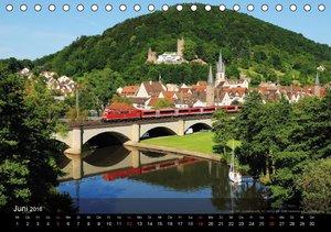 Eisenbahn in Mitteldeutschland (Tischkalender 2016 DIN A5 quer)