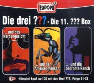 Die drei ??? Box 11. Folgen 31-33 (drei Fragezeichen). 3 CDs