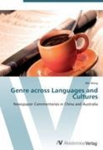 Genre across Languages and Cultures