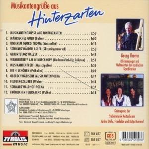 Musikantengrüáe aus Hinterzarten