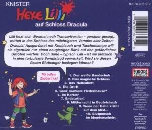 Hexe Lilli 14 auf Schloss Dracula. CD