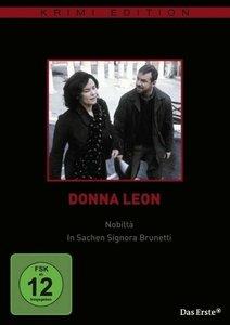 Donna Leon: Nobilitá & In Sachen Signora Brunetti (Krimiedition