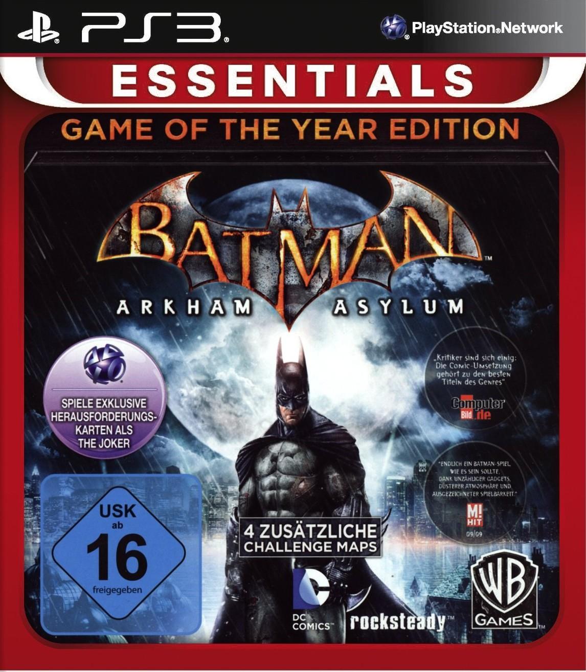 Batman: Arkham Asylum - Game of the Year Edition (Essentials) - zum Schließen ins Bild klicken
