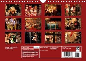 Kleine Weihnachtsgeschichten (Wandkalender 2017 DIN A4 quer)