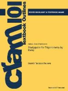 Studyguide for Trigonometry by Baley, ISBN 9780072833379