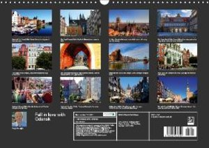 Fall in love with Gdansk (Wall Calendar 2015 DIN A3 Landscape)