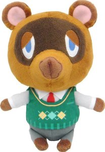 Animal Crossing - Tom Nook Plüsch, ca. 20 cm
