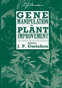 Gene Manipulation in Plant Improvement