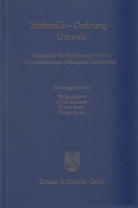 Methodik - Ordnung - Umwelt