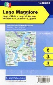KuF Italien Outdoorkarte 08 Lago Maggiore 1 : 50.000