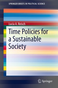 Time Policies for Sustainable Societies