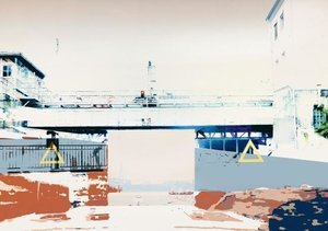 Photo-Art / Hamburg Hafen (Tischaufsteller DIN A5 quer)
